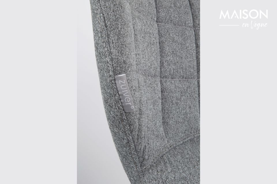 Silla de oficina OMG negra y gris - 7