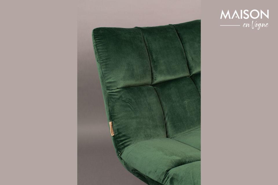 Su suave asiento es una promesa de agradables momentos de relajación en su sala de estar