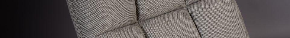 Descriptivo Materiales  Silla de salón Barra gris claro