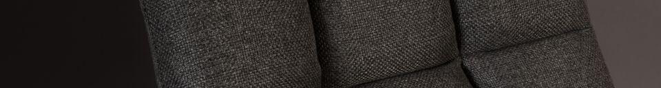 Descriptivo Materiales  Silla de salón Barra gris oscuro