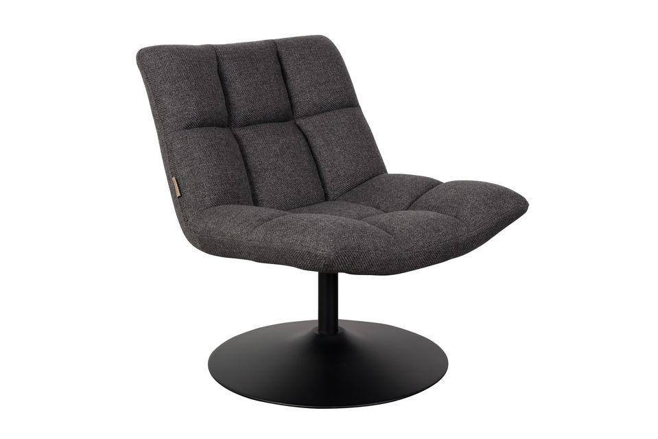 Esta silla de bar puede soportar un peso máximo de 120 kg