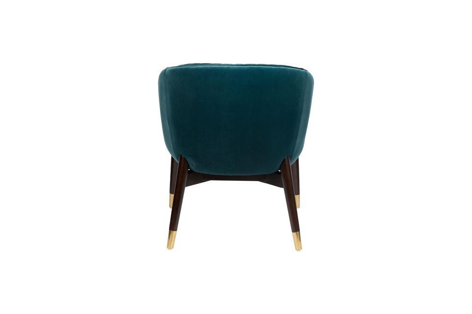 El sillón Dolly creará entonces una atmósfera moderna en su salón