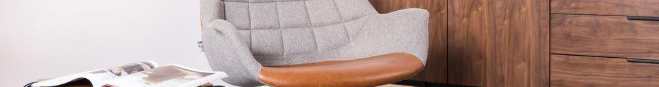 Descriptivo Materiales  Silla de salón Doulton Vintage Brown