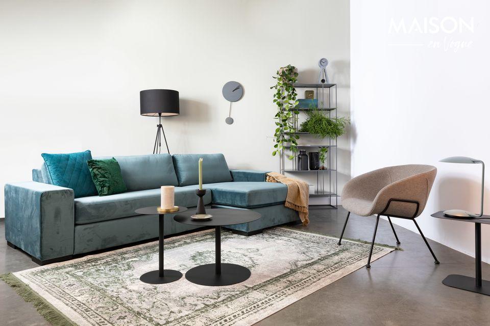 Una silla cómoda con un estilo moderno y fácil de combinar