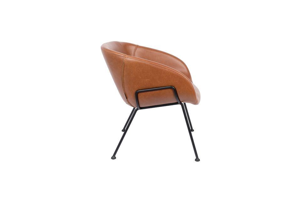 Silla de salón Feston marrón - 8
