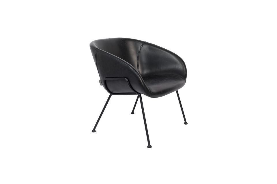 Esta elegante silla es ideal para realzar un espacio contemporáneo
