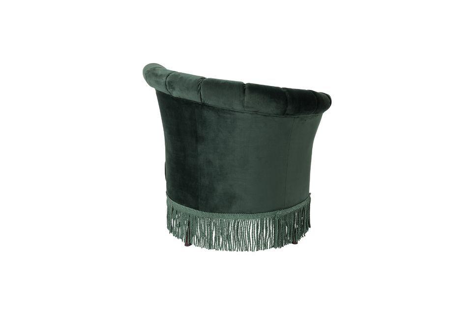 Silla de salón Flair verde oscuro - 6