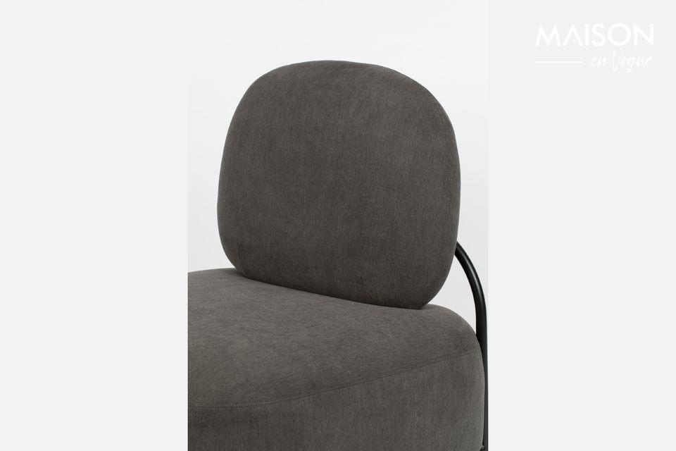 Una silla contemporánea con un confort increíble