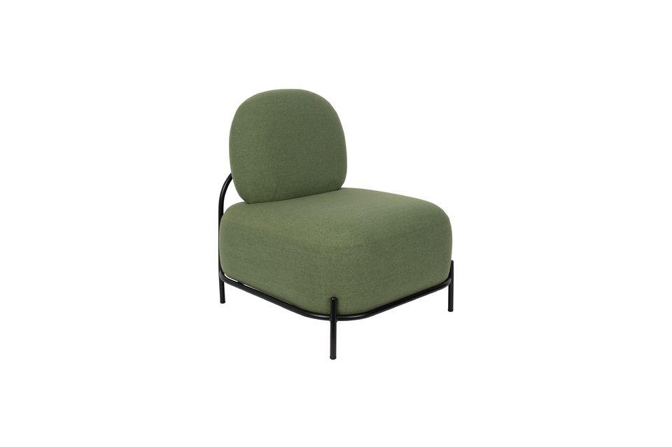 El aspecto de este sillón sorprende y seduce por su originalidad