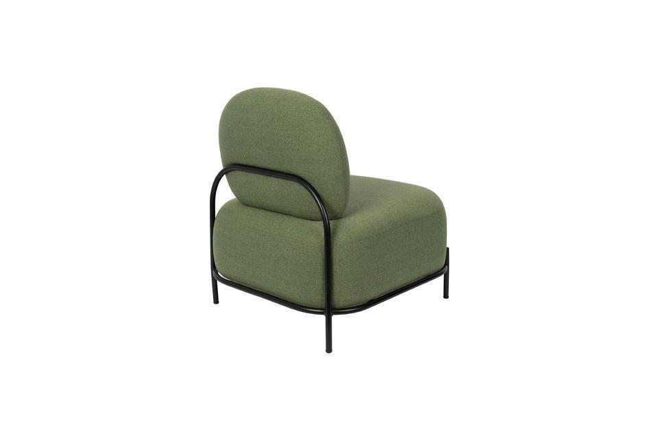 Silla de salón verde Polly - 7