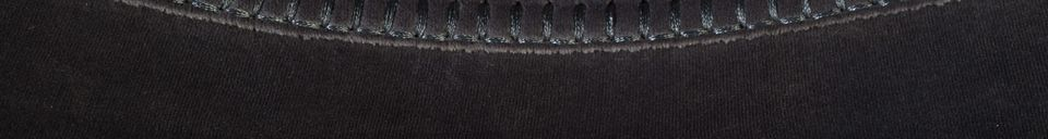 Descriptivo Materiales  Silla de terciopelo gris Franky