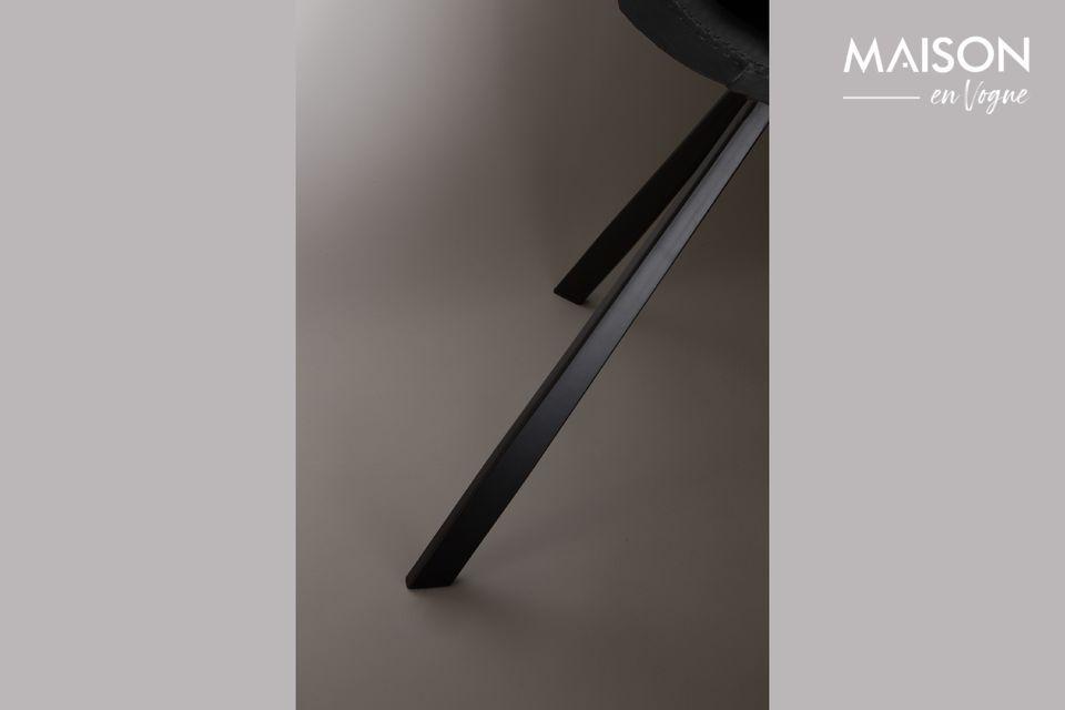 Silla Franky negro - 5
