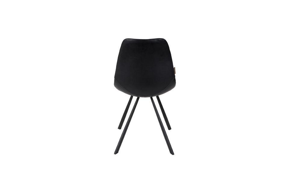 Silla Franky negro - 8