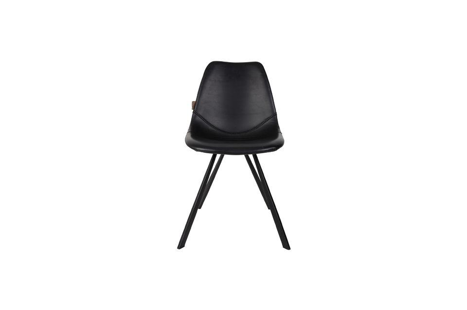 Silla Franky negro - 10