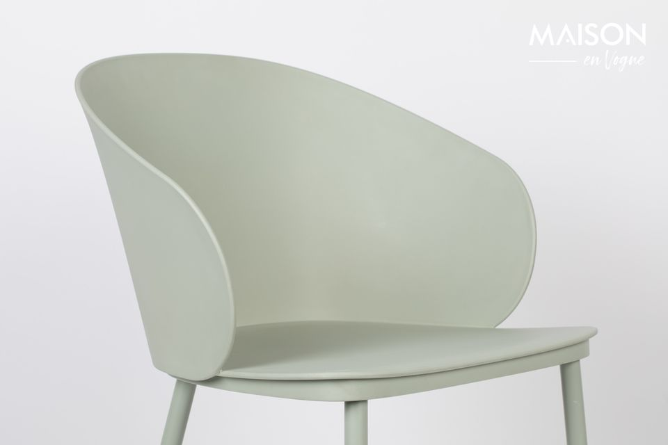 Una silla con un aspecto minimalista