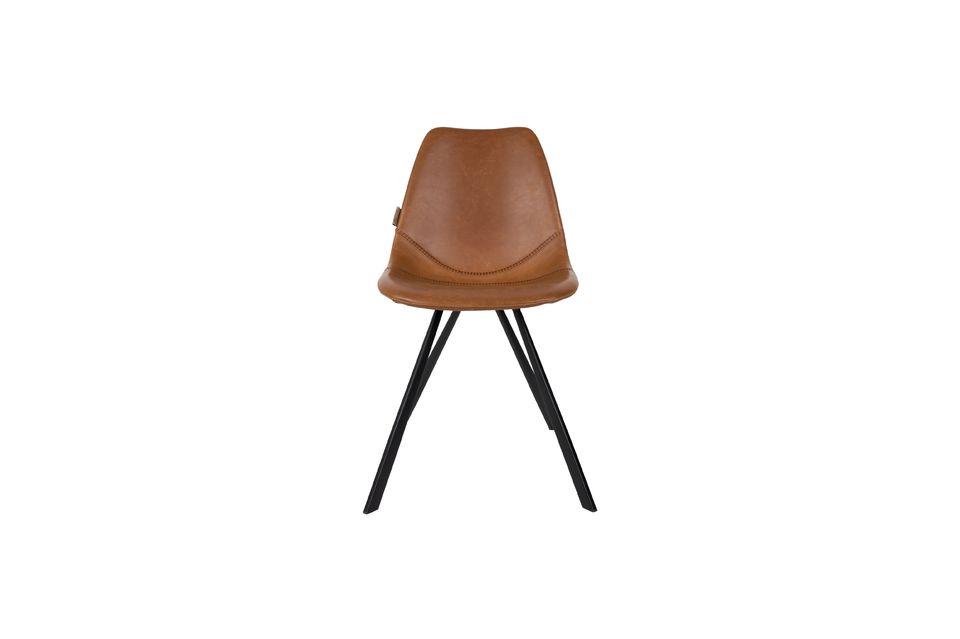 Silla marrón Franky - 10
