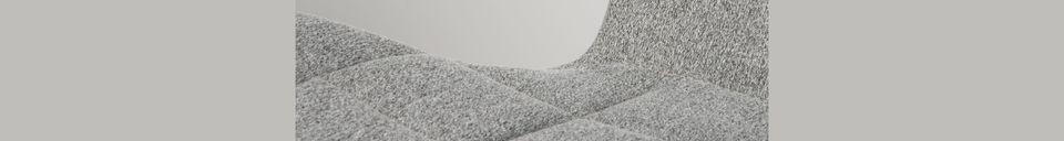 Descriptivo Materiales  Silla OMG gris claro