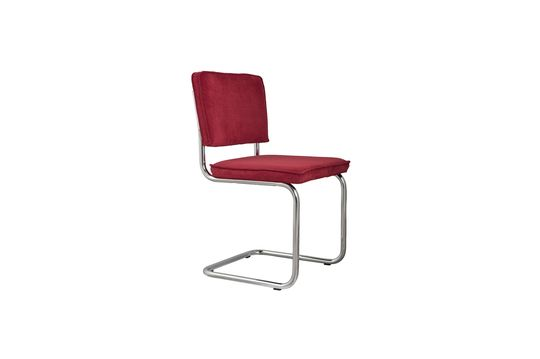 Silla Ridge Rib rojo Clipped