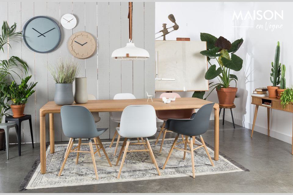 Una mezcla de estilos para una silla original