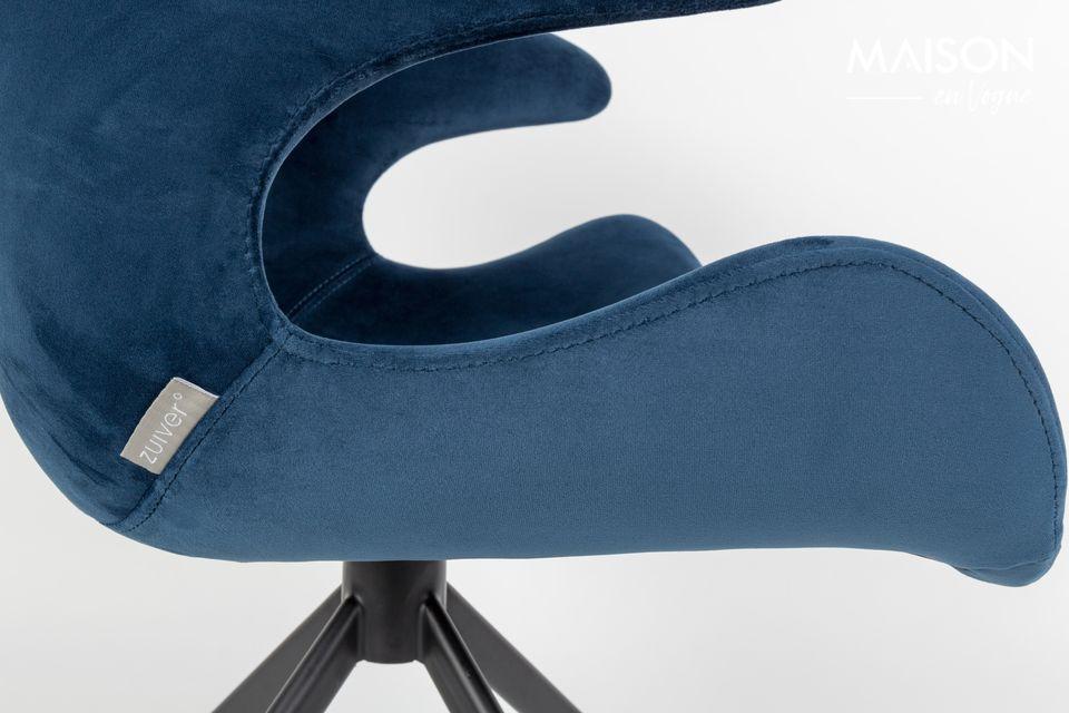 Sillón azul Mia - 4