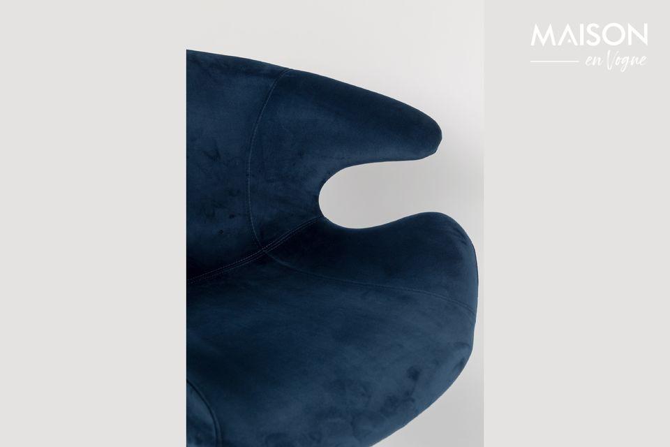 Sillón azul Mia - 5