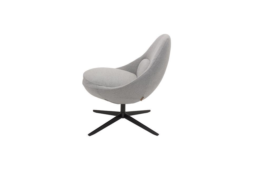 Opten por el estilo nórdico con el magnífico sillón gris amanecer de Bloomingville