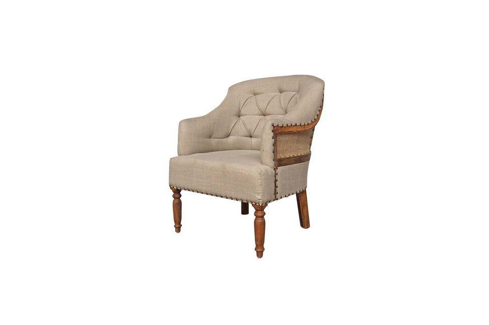 Sus formas clásicas aportarán calidez y comodidad a su dormitorio o sala de estar