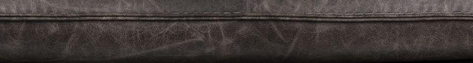 Descriptivo Materiales  Sillón de salón Bon color gris oscuro