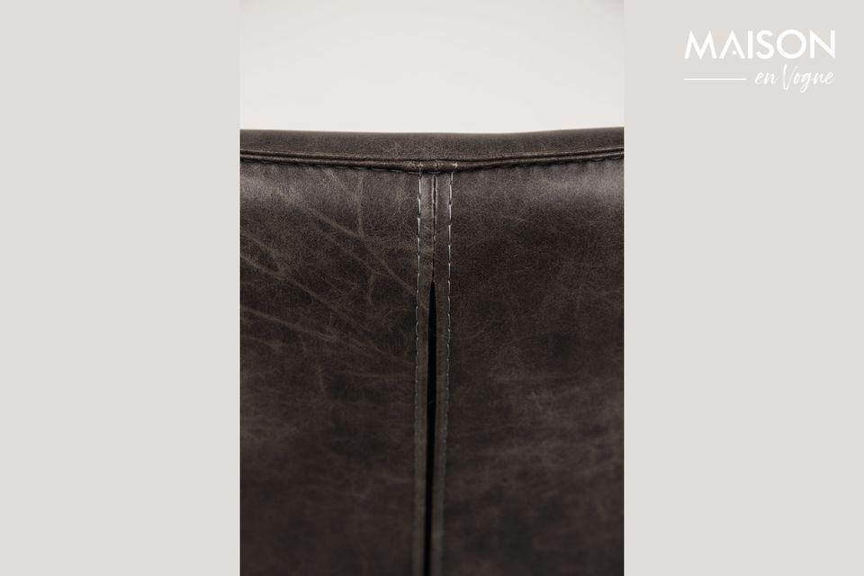 Sillón de salón Bon color gris oscuro - 4