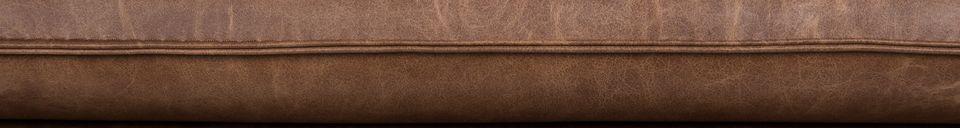 Descriptivo Materiales  Sillón de salón Bon color marrón