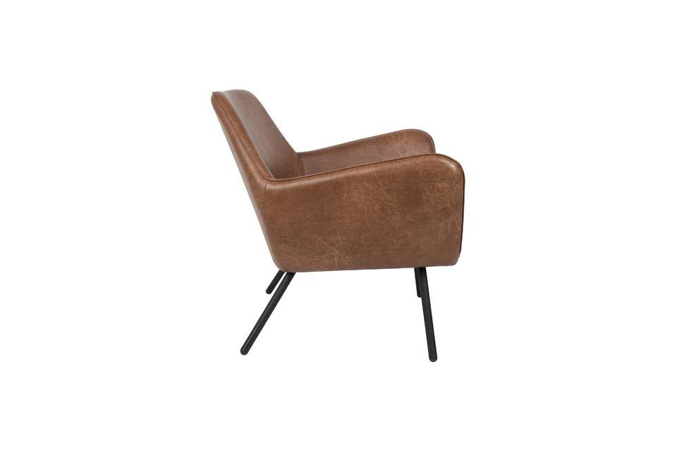 Sillón de salón Bon color marrón - 10