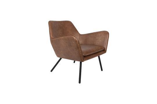 Sillón de salón Bon color marrón Clipped