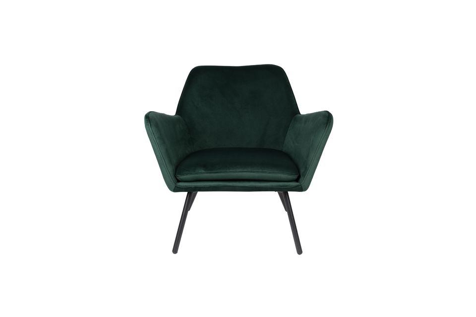 Añade a esto un cojín de asiento desmontable y tendrás una silla perfecta para sentarte