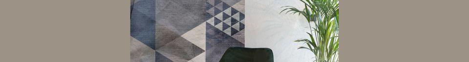 Descriptivo Materiales  Sillón de salón Bon en terciopelo verde