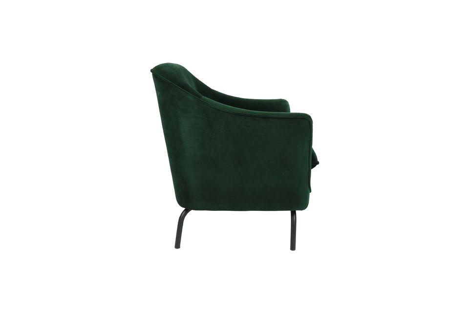 Con un toque de estilo inglés, puedes imaginarte este bonito sillón salido de una casa de campo