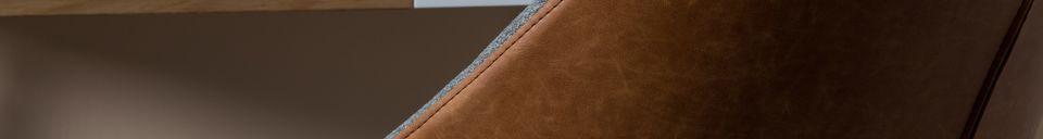 Descriptivo Materiales  Sillón Doulton Vintage Brown