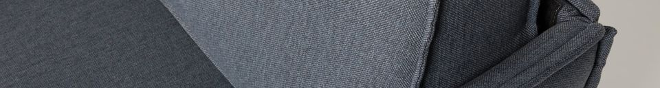 Descriptivo Materiales  Sillón Jaey gris-azul