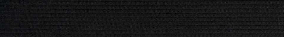 Descriptivo Materiales  Sillón Ridge Rib negro