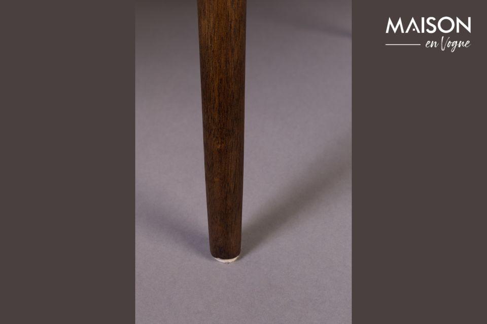 Este modelo de sillón está directamente inspirado en el estilo de los 60