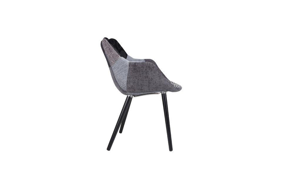 Sillón Twelve Patchwork gris - 6