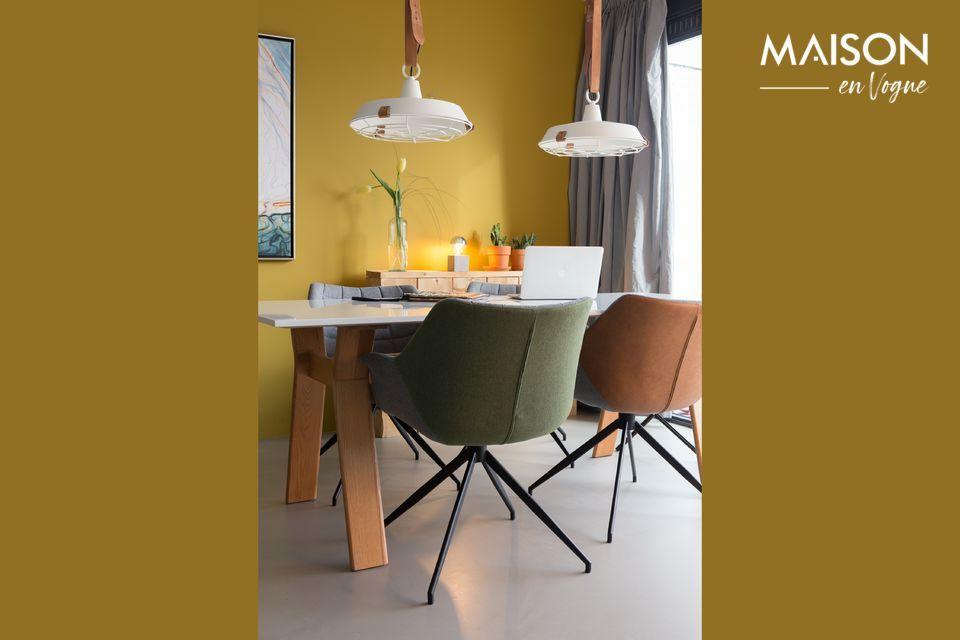 Una arquitectura sofisticada para una silla cómoda y versátil