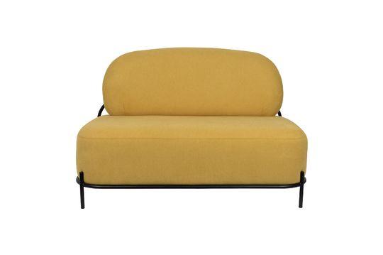 Sofá amarillo Polly Clipped