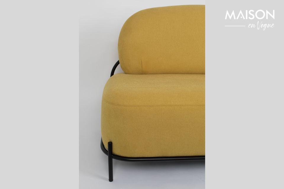 Un sofá muy cómodo para un aspecto atípico