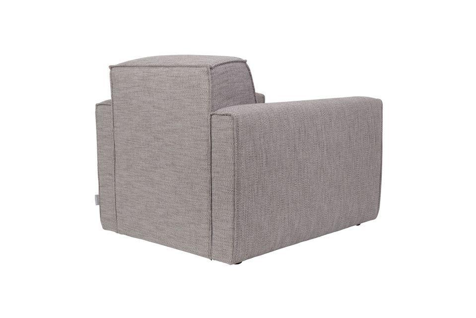 Sofá de 1 puesto Bor gris - 6