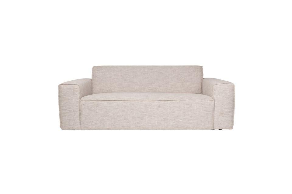 Cómodo y elegante, este sofá te seducirá con sus líneas sobrias