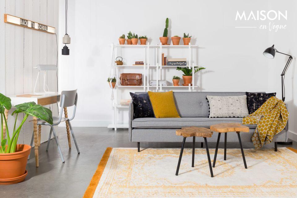 Un sofá que se adapta a todas las decoraciones interiores