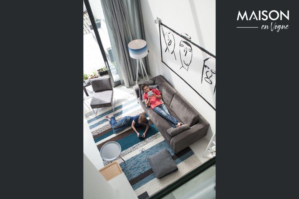 El confort y la practicidad de un sofá que combina la tradición y la modernidad