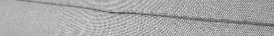 Descriptivo Materiales  Sofá de esquina derecha Fat Freddy gris claro