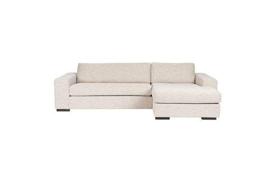 Sofá de esquina Fiep beige recto