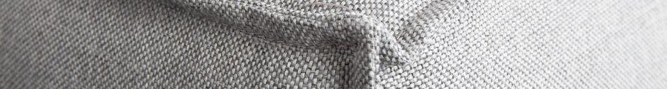 Descriptivo Materiales  Sofá de esquina izquierda Fat Freddy gris-claro